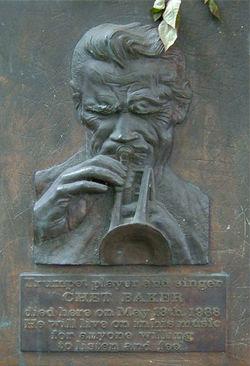 Monumento a la memoria de Chet Baker en Ámsterdam
