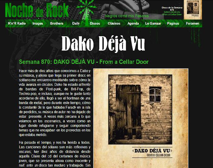 DISCO en NOche de Rock 870