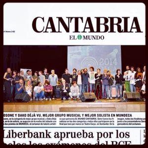 Dako Déjà Vu en EL MUNDO - GANADOR FINAL MUNDECA(PORTADA)